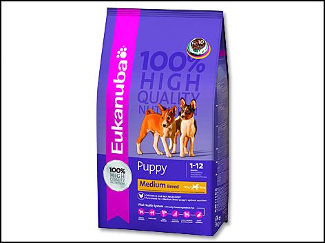 EUKANUBA Puppy & Junior Medium Breed 3kg