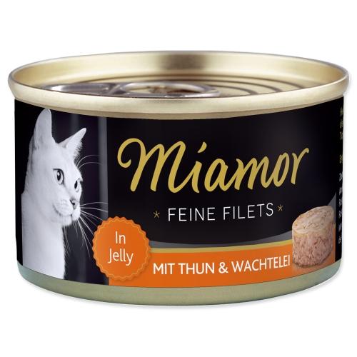 Konzerva MIAMOR Filet tuňák + křepelčí vejce 100 g