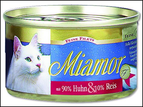Konzerva MIAMOR Filet kuře + rýže 100 g