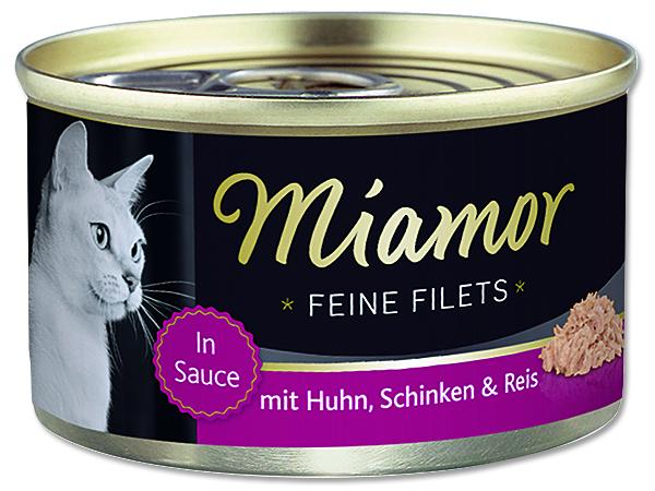 Konzerva MIAMOR Filet kuře + šunka 100 g