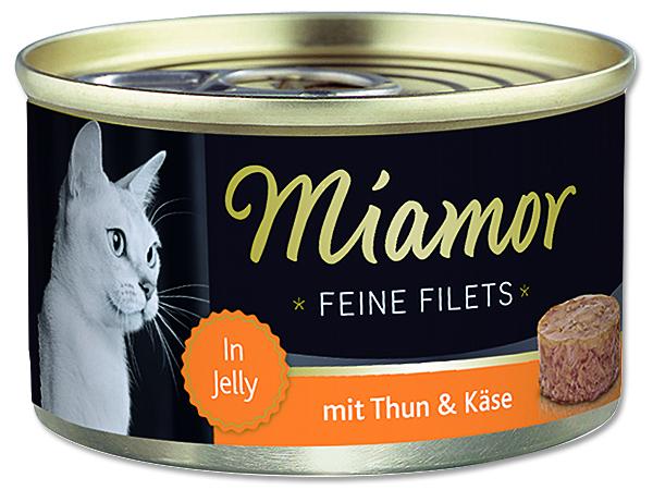 Konzerva MIAMOR Filet tuňák + sýr 100 g