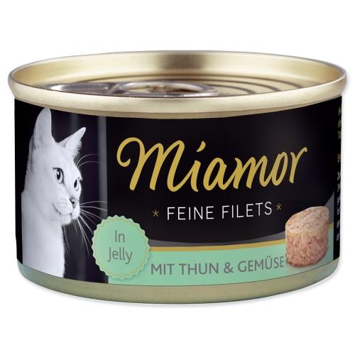 Konzerva MIAMOR Filet tuňák + zelenina 100 g