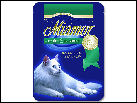 Kapsička MIAMOR Filet tuňák + zelenina 100 g