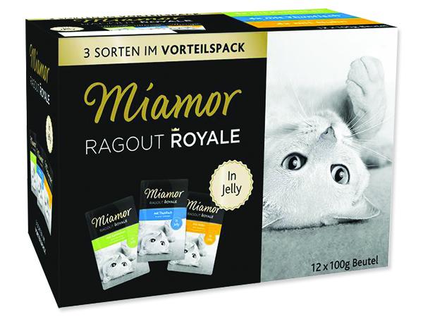 Kapsičky MIAMOR Ragout Royale multipack kuře, tuňák, králík v že