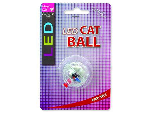 Hračka MAGIC CAT LED míček svítící 3,75 cm
