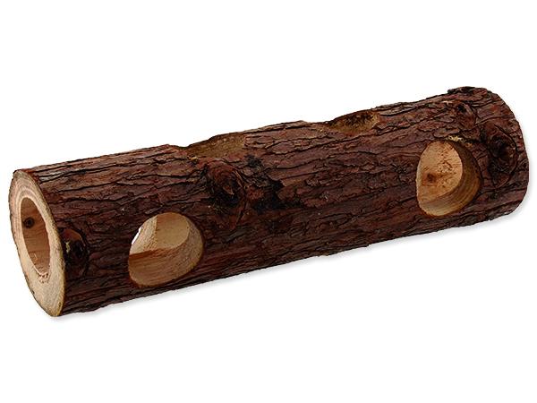 Úkryt SMALL ANIMALS kmen stromu dřevěný 7 x 30 cm