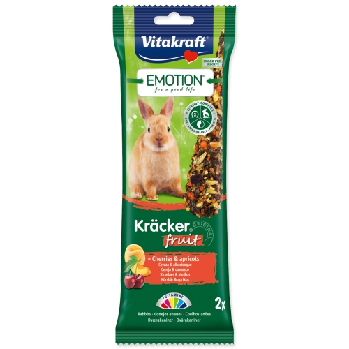 Tyčinky VITAKRAFT Emotion kracker králík ovocné