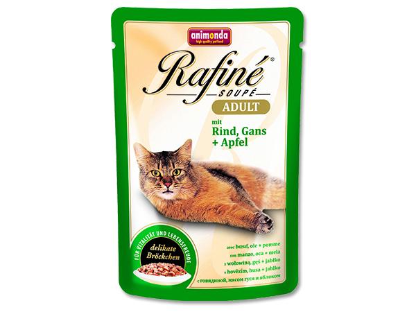 Kapsička Rafine Soupe hovězí+husa+jablko 100g