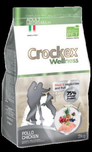 CROCKEX Adult Medium - Maxi Chicken Rice Low Grain 12kg