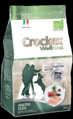 CROCKEX Adult Medium - Maxi Duck Rice Low Grain 12kg