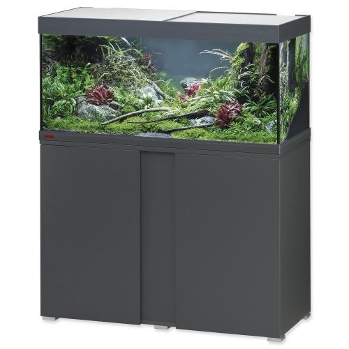 Akvárium set se stolkem EHEIM Vivaline LED antracit 180l, 101*41