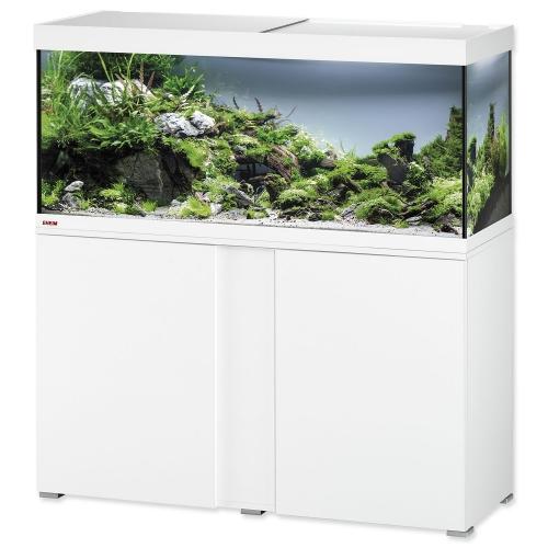 Akvárium set se stolkem EHEIM Vivaline LED bílý 240l, 121*41*124