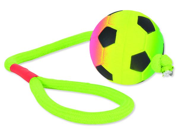 Hračka TRIXIE míč neonový na provaze 30 cm