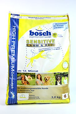 Bosch Dog Sensitive Lamb&Rice 3kg