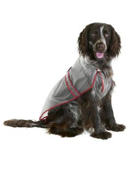 Pláštěnka pro psy PVC 34cm KAR