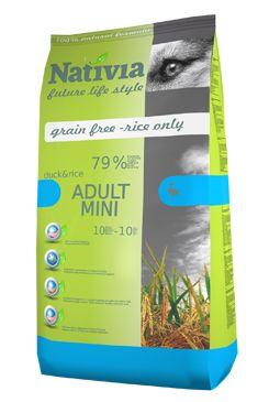 Nativia Dog Adult Mini Duck&Rice 3kg