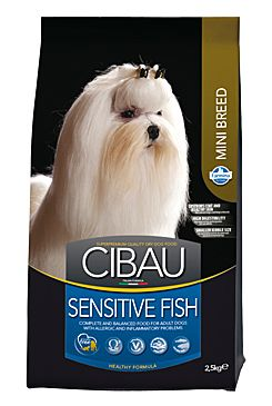 CIBAU Dog Adult Sensitive Fish&Rice Mini 2,5kg