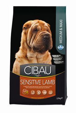 CIBAU Dog Adult Sensitive Lamb&Rice 2,5kg