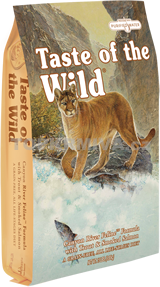 Taste of the Wild granule pro kočky Canyon River 2kg