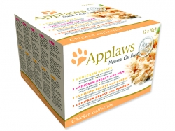 Konzervy APPLAWS Chicken Selection Multipack 12 x 70 g