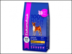 EUKANUBA Mature & Senior Small & Medium 3kg