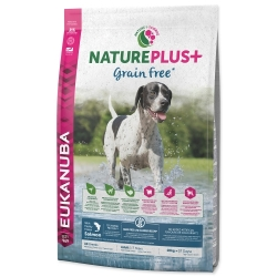 EUKANUBA Nature Plus+ Adult Grain Free Salmon