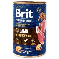 BRIT Premium by Nature Lamb with Buckwheat 400g