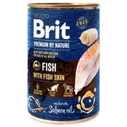 BRIT Premium by Nature Fish with Fish Skin 400g