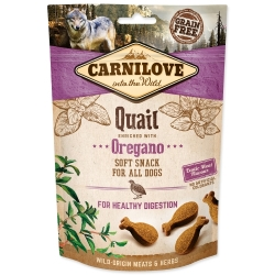 CARNILOVE Dog Semi Moist Snack Quail enriched with Oregano