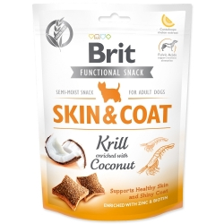 BRIT Care Dog Functional Snack Skin and Coat Krill
