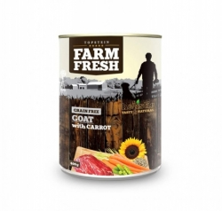 Topstein Farm Fresh Goat with Carrots 400 g