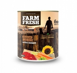 Topstein Farm Fresh Horse with Carrots 800 g