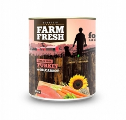 Farm Fresh - TURKEY with CARROT 800g