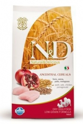 N&D LG DOG Adult Mini Chicken & Pomegranate 7kg