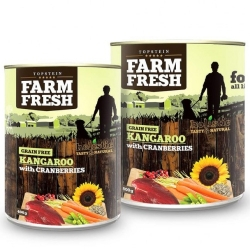Topstein Farm Fresh Kangaroo with Cranberry 400 g